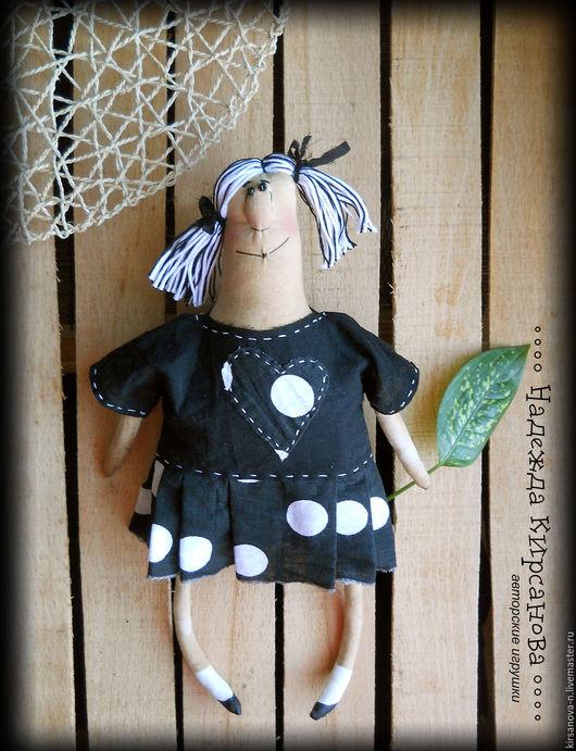 Ароматизированные куклы ручной работы. Ярмарка Мастеров - ручная работа. Купить Кукла в гороховом платье.. Handmade. Кукла ручной работы
