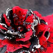 """Сумки и аксессуары ручной работы. Ярмарка Мастеров - ручная работа сумка """"Красное и черное"""". Handmade."""