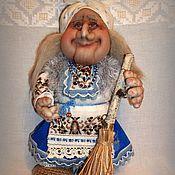 Куклы и игрушки ручной работы. Ярмарка Мастеров - ручная работа Баба Яга в голубом. Handmade.