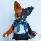 Куклы и игрушки ручной работы. Ярмарка Мастеров - ручная работа Котёнок химера. Handmade.