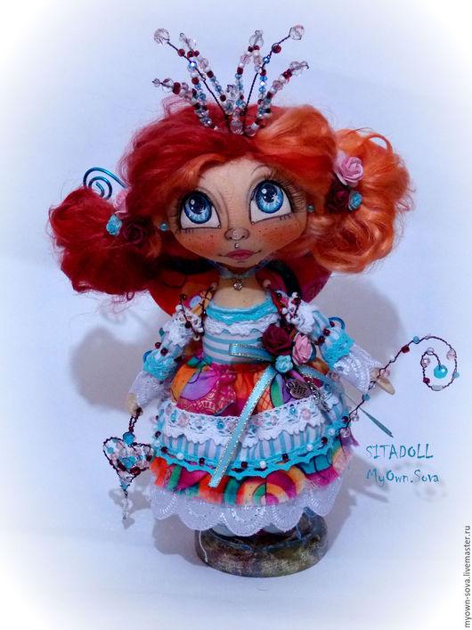 Коллекционные куклы ручной работы. Ярмарка Мастеров - ручная работа. Купить Принцеса Фея рыжая. Handmade. Рыжий, ручная работа