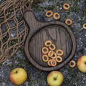 Посуда handmade. Livemaster - original item Wooden Board for serving