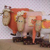 Куклы и игрушки ручной работы. Ярмарка Мастеров - ручная работа Раз -  овечка, два - овечка.... Handmade.