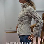 """Одежда ручной работы. Ярмарка Мастеров - ручная работа Свитер """"Араны"""". Handmade."""