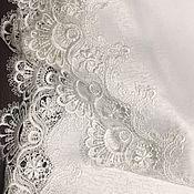 Для дома и интерьера handmade. Livemaster - original item Oval tablecloth with lace. Handmade.