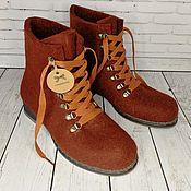 Обувь ручной работы handmade. Livemaster - original item Chocolate Shoes-size 39. Handmade.