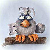 Куклы и игрушки ручной работы. Ярмарка Мастеров - ручная работа Птиц Ворчун Старший. Handmade.