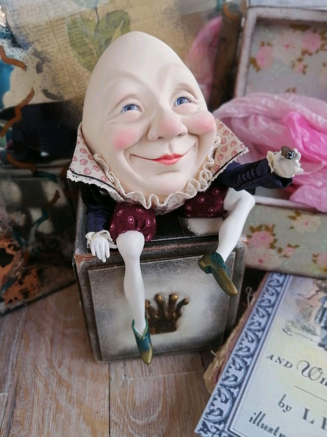 интерьерная кукла ШАЛТАЙ-БОЛТАЙ, Интерьерная кукла, Москва,  Фото №1