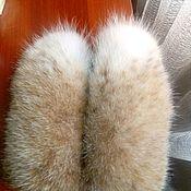 Варежки из меха рыси