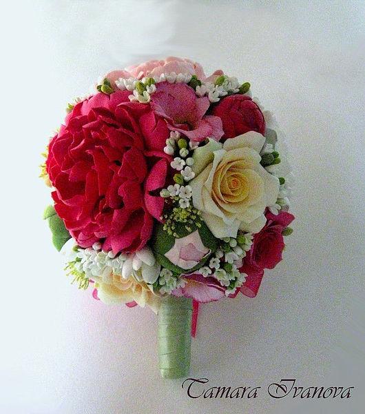 Свадебные цветы ручной работы. Ярмарка Мастеров - ручная работа. Купить Свадебный букет. Handmade. Букет невесты, авторские украшения
