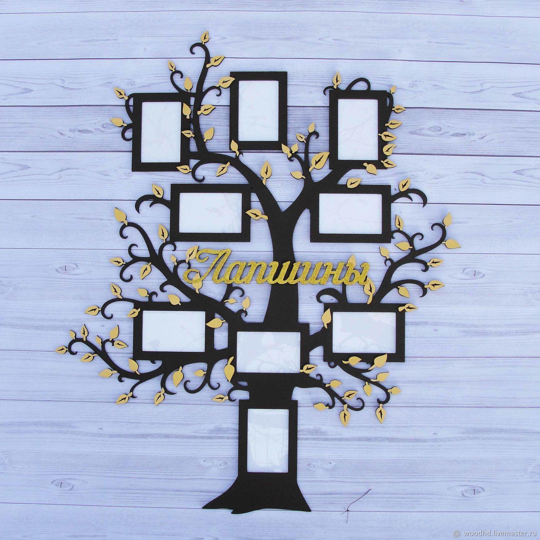 Семейное дерево с фоторамками, Фоторамки, Новороссийск, Фото №1