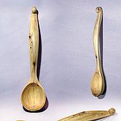 Для дома и интерьера ручной работы. Ярмарка Мастеров - ручная работа Ложка деревянная из можжевельника. Handmade.