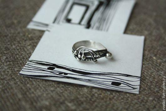 Кольца ручной работы. Ярмарка Мастеров - ручная работа. Купить Кольцо Сталкер, серебро 925 пробы. Handmade. Серебряный