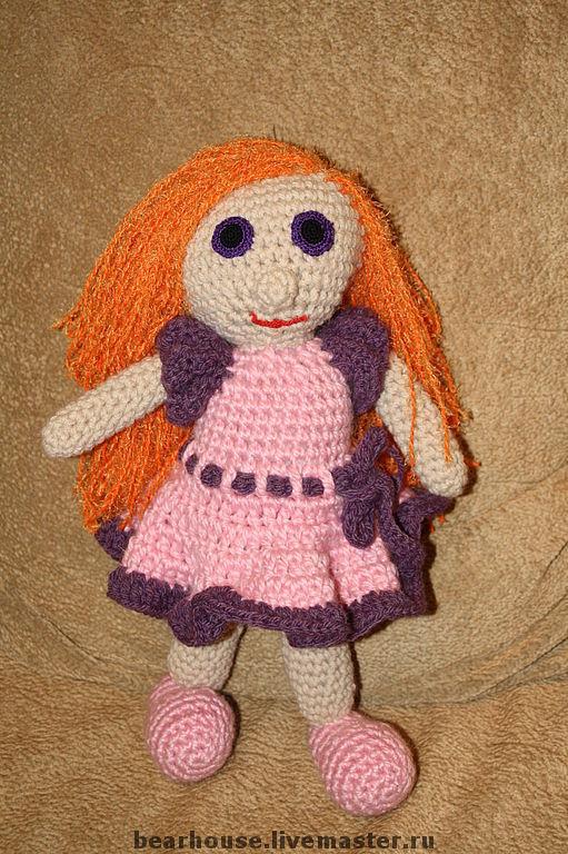 Человечки ручной работы. Ярмарка Мастеров - ручная работа. Купить Кукла Златовласка. Handmade. Текстильная кукла, кукла
