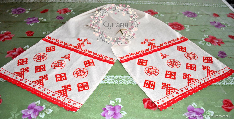 Linen towel ' Makoshina shroud', Towels2, Anapa,  Фото №1