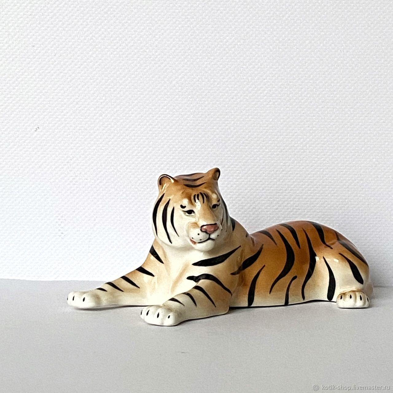 Статуэтка тигр, Статуэтки, Москва,  Фото №1