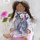 принцесса на горошине, принцесса на горошине тильда, кукла тильда, тильда, ангел тильда, тильда принцесса, подарок на день рождения, куклы и игрушки, Юлия Голованова, Ярмарка мастеров