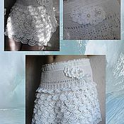 Одежда ручной работы. Ярмарка Мастеров - ручная работа Белое.... Handmade.