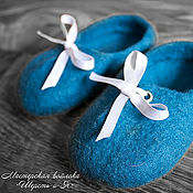 Обувь ручной работы. Ярмарка Мастеров - ручная работа Ботиночки детские валяные , пинетки из шерсти. Handmade.