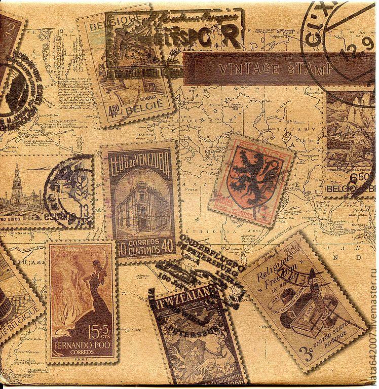 Открытки, старые открытки с марками