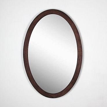 Для дома и интерьера ручной работы. Ярмарка Мастеров - ручная работа Зеркало овальное Манхэттен, зеркало овальное настенное.. Handmade.