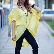 Одежда handmade. Livemaster - original item Summer blouse-tunic made of cotton - TP0494CT. Handmade.