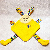Куклы и игрушки ручной работы. Ярмарка Мастеров - ручная работа Игрушка для малышей Дуду Зайчик. Handmade.