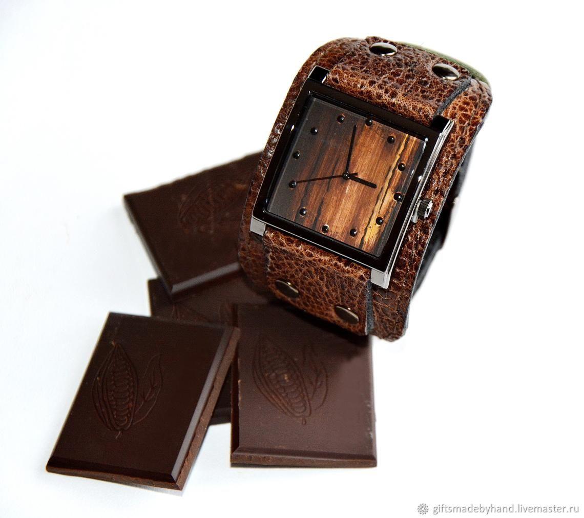 Часы наручные. Шоколад. Кокос. Финики, Часы наручные, Москва,  Фото №1