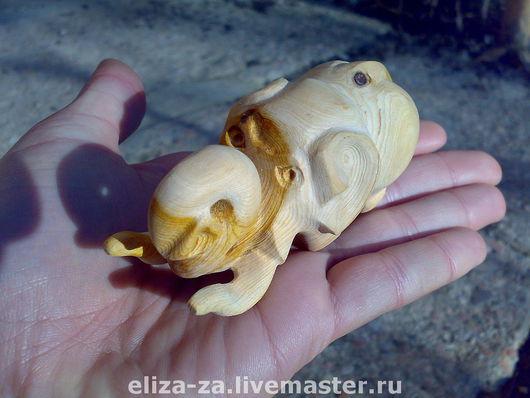 Статуэтки ручной работы. Ярмарка Мастеров - ручная работа. Купить Статуэтка Слон. Handmade. Резьба по дереву, коричневый, слон
