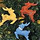Быстрые друзья Деда Мороза ( набор из 3 шт), Украшения, Москва, Фото №1