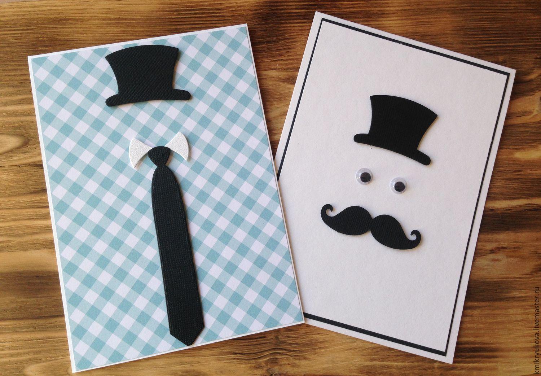 Как оформить открытку мужчине