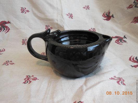 Банные принадлежности ручной работы. Ярмарка Мастеров - ручная работа. Купить Скаттл (чаша для бритья) - 2 с держателем для помазка. Handmade.