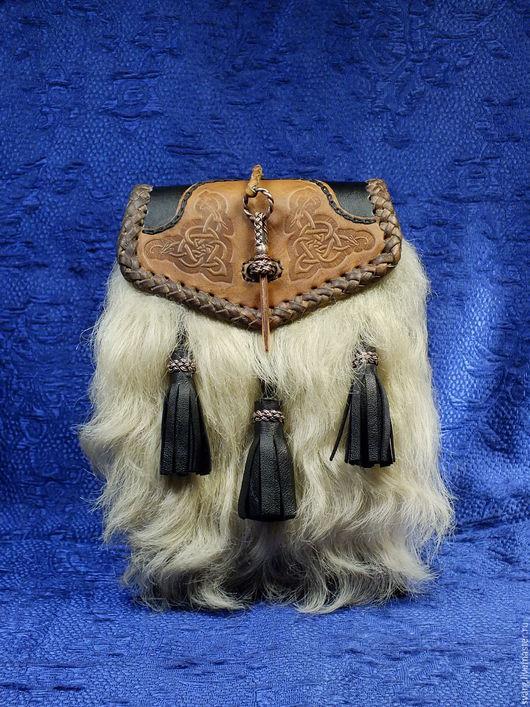 """Мужские сумки ручной работы. Ярмарка Мастеров - ручная работа. Купить Спорран (semi-dress sporran) """"PenDragon"""" арт 200. Handmade."""