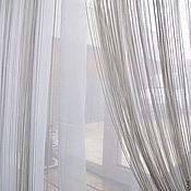 Для дома и интерьера ручной работы. Ярмарка Мастеров - ручная работа Шторы. Авторский тюль с кистями белый. Handmade.
