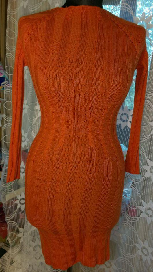 """Платья ручной работы. Ярмарка Мастеров - ручная работа. Купить Платье из 100% кашемира """"Заводной апельсин"""". Handmade. Платье"""