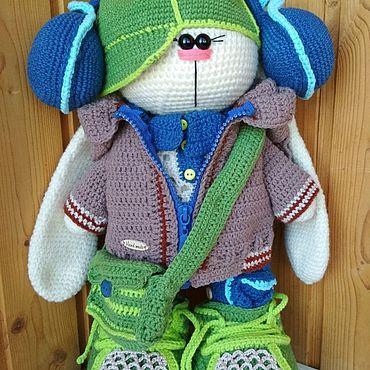 Куклы и игрушки ручной работы. Ярмарка Мастеров - ручная работа Заяц-тильда игрушка. Handmade.