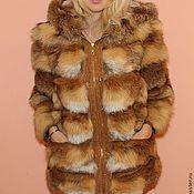 Одежда handmade. Livemaster - original item The coat of Fox on suede. Handmade.