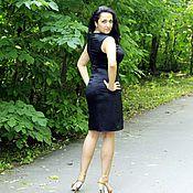 Одежда ручной работы. Ярмарка Мастеров - ручная работа Маленькое черное платье из шелка. Handmade.