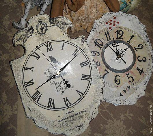 """Часы для дома ручной работы. Ярмарка Мастеров - ручная работа. Купить """"Почти Алиса"""" часы.. Handmade. Белый, часы настенные"""