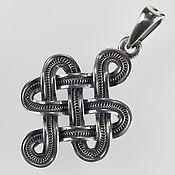 Фен-шуй и эзотерика handmade. Livemaster - original item Amulet Knot of good luck, love and prosperity. Handmade.