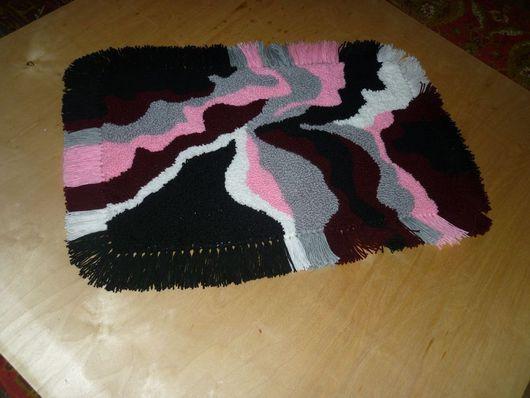 Текстиль, ковры ручной работы. Ярмарка Мастеров - ручная работа. Купить коврики. Handmade. Коврик вязаный, дизайн для интерьера
