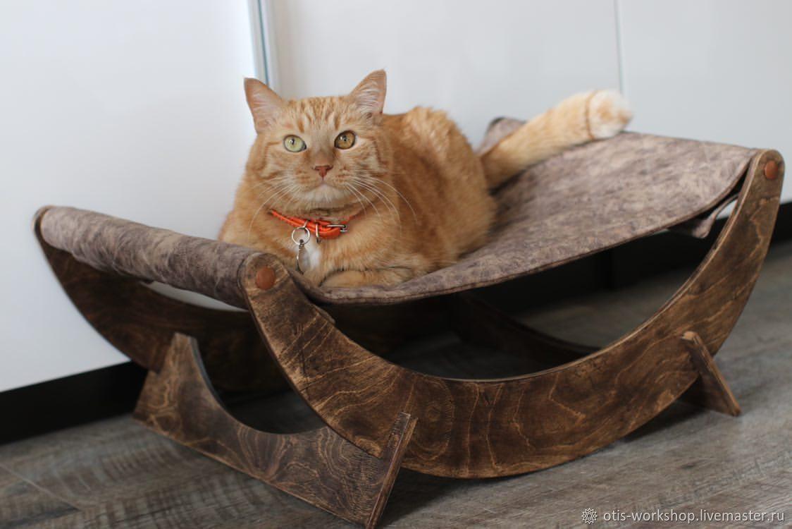 Гамак для кошек Otis Workshop, Лежанки, Волгоград,  Фото №1