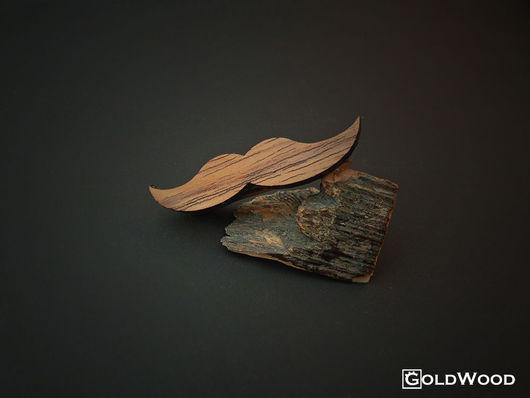 """Украшения для мужчин, ручной работы. Ярмарка Мастеров - ручная работа. Купить Зажим для галстука """"Beard"""". Handmade. Эксклюзивный подарок"""