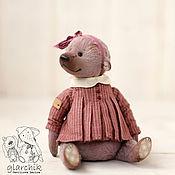 Куклы и игрушки ручной работы. Ярмарка Мастеров - ручная работа медведица Муфи. Handmade.