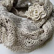 Аксессуары handmade. Livemaster - original item The Snood scarf in a boho style. Handmade.