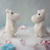 Куклы и игрушки ручной работы. Ярмарка Мастеров - ручная работа Муми-тролль и Снорк. Handmade.
