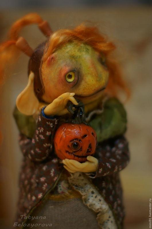 """Коллекционные куклы ручной работы. Ярмарка Мастеров - ручная работа. Купить """"Прелесть моя"""". Handmade. Комбинированный, полимерная глина"""
