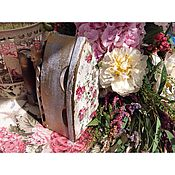 Для дома и интерьера ручной работы. Ярмарка Мастеров - ручная работа Старинный утюг. Handmade.