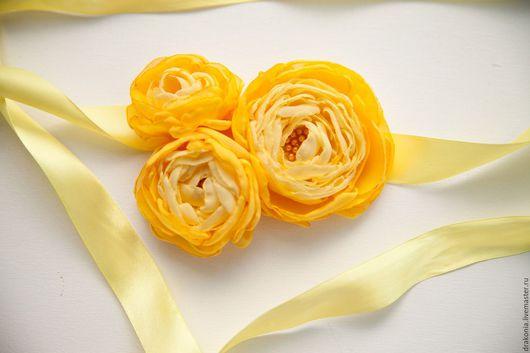 Комплекты украшений ручной работы. Ярмарка Мастеров - ручная работа. Купить Комплект Солнечный цветок. Handmade. Желтый лето цветок
