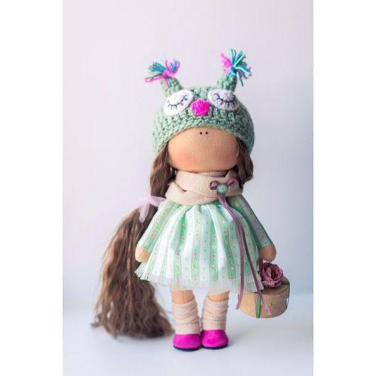 Коллекционные куклы ручной работы. Ярмарка Мастеров - ручная работа. Купить Малышка сова. Handmade. Кукла ручной работы, хендмейд